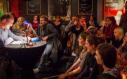 Disentertainment Kopfnuss-Lesebühne Limes Bonn Publikum